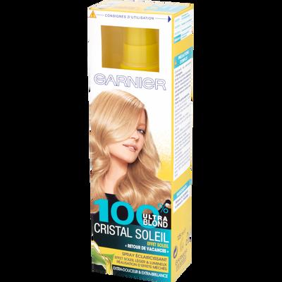 Spray éclaircissant CRISTAL SOLEIL, 100% blonde, 125ml