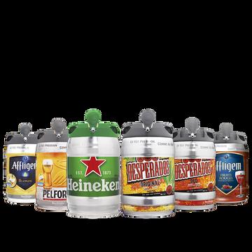 Desperados Bière Blonde Aromatisée Tequila Desperados, 5,9°, Fût Pression 5l
