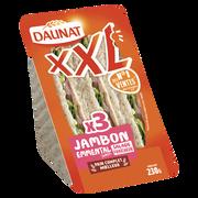 Daunat Sandwich Triangle Xxl Jambon, Emmental Et Salade Daunat, 230g