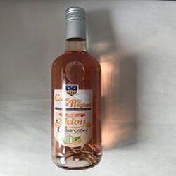 Boisson aromatisée à base de vin Rosé Melon des charentes VINS ET FRUITS