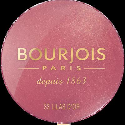 Blush boîte ronde 033 lilas d'or BOURJOIS, 2,5g