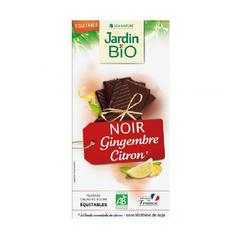 Chocolat noir gingembre citron - Jardin Bio