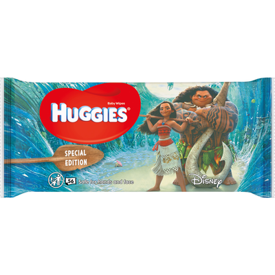 Lingettes pour bébé pour mains et visage Disney HUGGIES, x56
