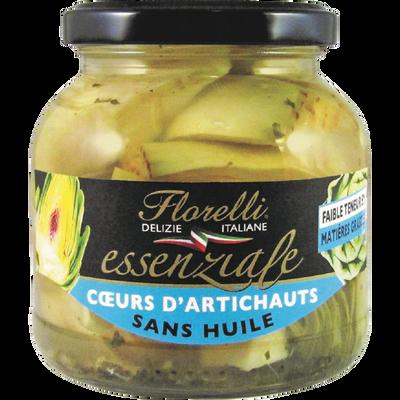 Cœurs d'artichauts sans huile FLORELLI, 290g
