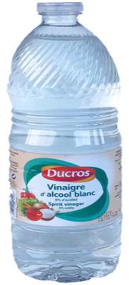 VINAIGRE D'ALCOOL BLANC DUCROS BOUTEILLE 1 L