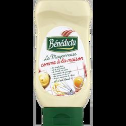 Mayonnaise comme à la Maison BENEDICTA, flacon souple de 390g