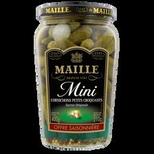 Maille Cornichons Mini Recette Classique , Bocal De 370g