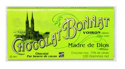 CHOCOLAT NOIR GRAND CRU D'EXCEPTION MADRE DE DIOS 100G - BONNAT CHOCOLATIER