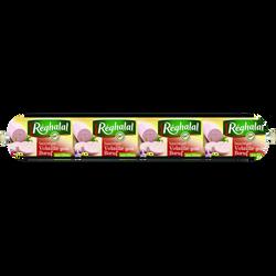 Saucisson volaille boeufs olives Réghalal HALAL, 500g