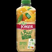 Joker Le Bio Orange Sans Pulpe Joker, Bouteille De 1l