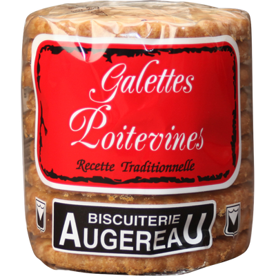 Galettes poitevines recette traditionnelle, BISCUITERIE AUGEREAU, 270g