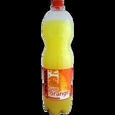 Pulpé orange puma, bouteille de 1,5l
