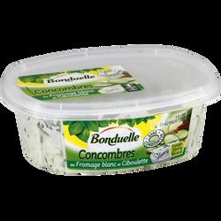 Salade de concombres au fromage blanc et ciboulette BONDUELLE, 300g