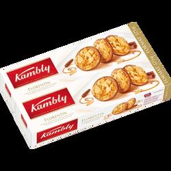 Biscuits florentin suisses amandes caramélisées KAMBLY, 2x125g