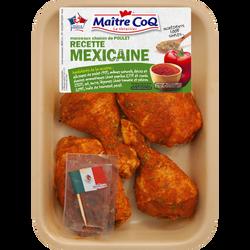 Cuisse de poulet déjointée mexicaine, MAITRE COQ, France