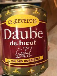 DAUBE DE BOEUF VIN CORBIERES