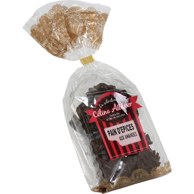 Pain d'épices chocolat noir amande BISCUITERIE ALBISSER, 175g