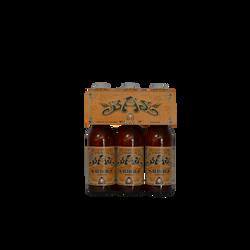 Bière blanche BRASERIE ARTISANALE SABAUDIA, 3 bouteilles de 33cl