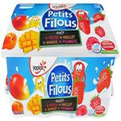 Yaourts Petits Filous  Yoplait X 16