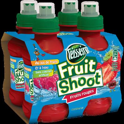 Fruit Shoot fruits rouge TEISSEIRE, 4 bouteilles de 20cl