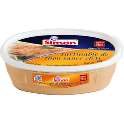 Tartinable de thon sauce Ch'ti saveurs en or SIMON DUTRIAUX, 300g