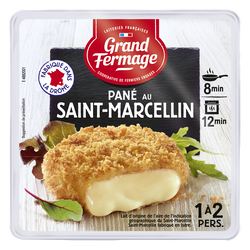 From.lt thermisé pané St-Marcellin 24%mg GRD FERMAGE 105g