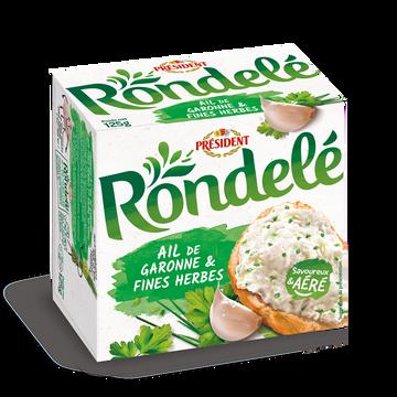Rondelé Rondelé Ail Et Fines Herbes Président, 31%mg, 125g