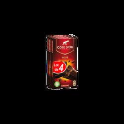 Chocolat noir extra COTE D'OR, 4x200g