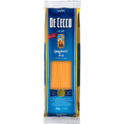 Spaghetti n°12 DE CECCO, paquet de 500g