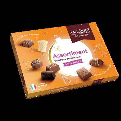 La collection assortiment de chocolats JACQUOT, boîte de 400g
