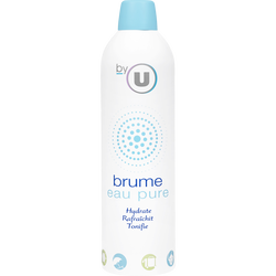 Brume d'eau pure BY U, atomiseur de 400ml