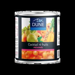 Cocktail de fruits au sirop léger PPX 4/4 500g