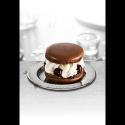 Macaron forêt noire, 2 pièces, 180g