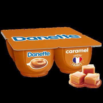 Danone Crème Dessert Caramel Danette, 4x125g