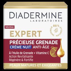 Crème nuit précieuse grenade DIAD EXPERT 50ml