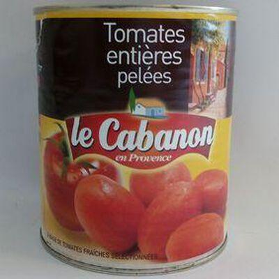 Tomates entières pelées LE CABANON boîte de 4/4, 765g