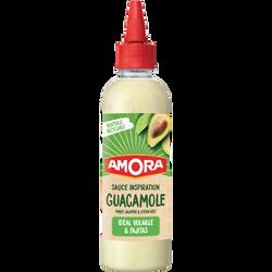 Sauce guacamole AMORA, flacon souple 216g