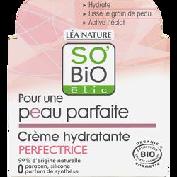 Crème perfectrice peau parfaite bio SO'BIO pot 50ml