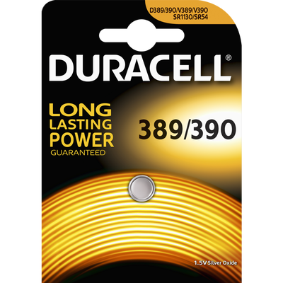 Pile DURACELL, mini 389/390