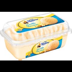 Crème glacée saveur vanille bourbon LA LAITIÈRE, 510g