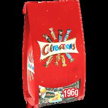 Célébrations Chocolats Assortis , Sachet De 196g