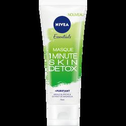 Masque skin détox 1 minute NIVEA visage, 75ml