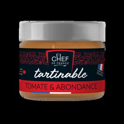 Tartinable tomate Abondance CHEF DE FRANCE, pot de 100g