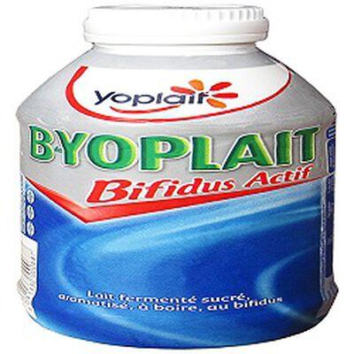 Lait fermenté sucré nature à boire B de YOLAIT, 250g