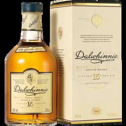 Scotch whisky single malt DALWHINNIE, 43°, 15 ans d'âge,  bouteille de70cl