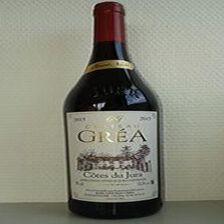 Vin rouge Côtes du Jura AOC Pinot Noir Château Gréa 75 cl