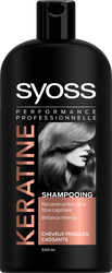 Shampooing kératine perfection SYOSS, 500ml