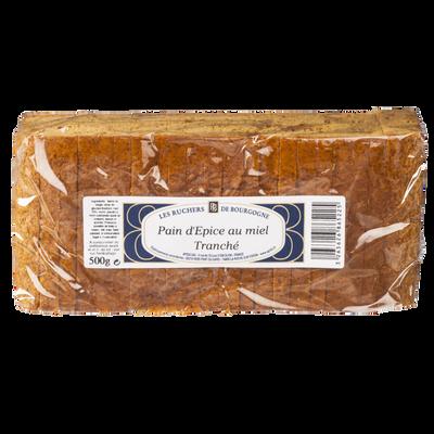 Pain d'épices au miel LES RUCHERS DE BOURGOGNE, 500g