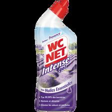 Gel détartrant senteur Provence aux huiles essentielles WC NET Intense, 750ml