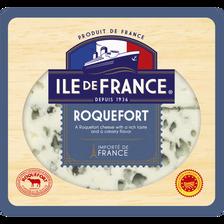 Roquefort tranché lait de brebis cru ILE DE FRANCE, 32% de MG, 100g